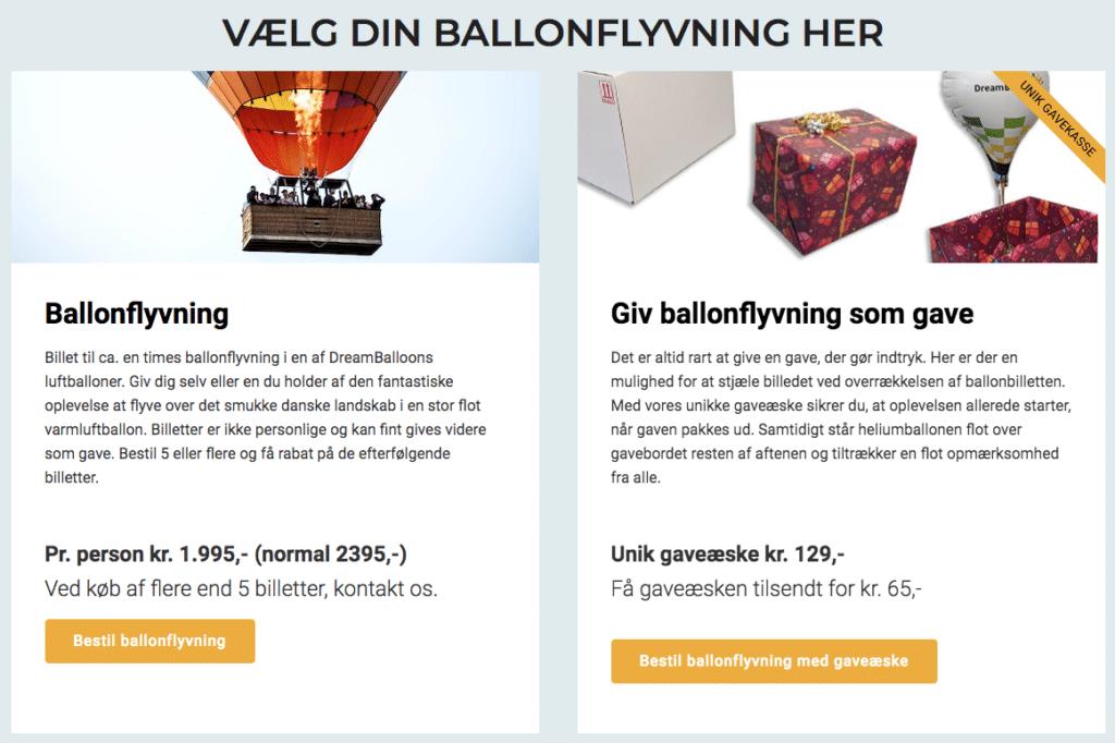 designdetalje Dreambaloon