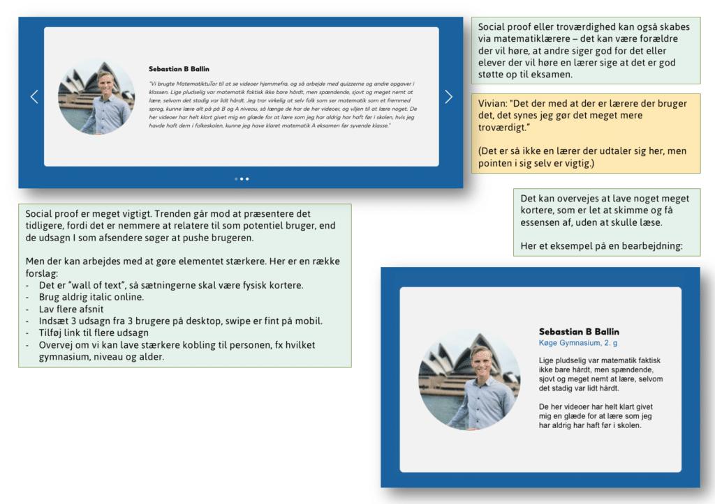 Eksempel fra rapport, MatematikTutor